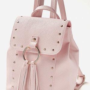 Stud and Tassel Mini backpack